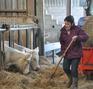 Lydie Doret - Agriculture Bio dans l'Auxois